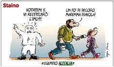 Sergio Staino - l'Unità 5 febbraio 2013