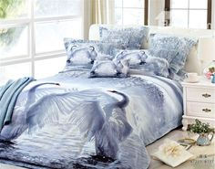 bedding-sets-with-swan-design