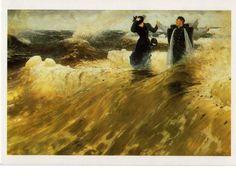 kortti ** Ilja Repin : Mikä vapaus! 1903 - Huuto.net