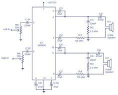 BA5406 10W Stereo Power Amplifier