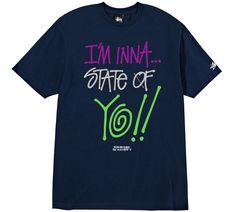 State Of Yo!! Tee #stussy #deliciousvinyl #collab
