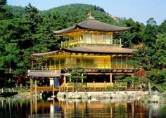 Golden Pavilion in Kyoto, Japan. One of the most beautiful sites I have ever seen #contest #dreamtravel