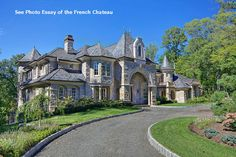 Dream Home Design USA Castle Luxury House Plans Manors Chateaux And Palaces In Luxury House Plans, French Chateau, My Dream Home, Dream Homes, Dream Big, Santa Monica, Ideal Home, Future House, Luxury Homes