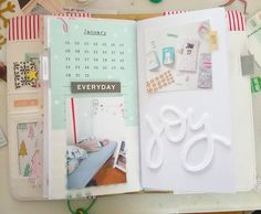 Januar Travelers Notebook. Mein PL dieses Jahr.