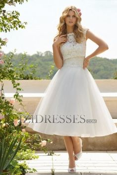With cowgirl boots A-Line Strapless Sweetheart Tulle Wedding Dress - IZIDRESSES.COM