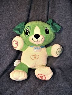 LeapFrog Interactive My Pal Scout Talking Interactive Learning Dog Plush Toy EUC #LeapFrog
