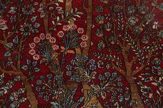 5x7 Isfahan Persian Area Rug