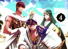Magi Vol. #04 Manga Review