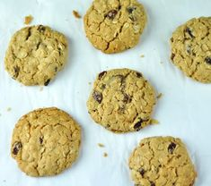 eggless oatmeal cookies with raisins Filling Snacks, Quick Snacks, Savory Snacks, Yummy Snacks, Healthy Snacks, Healthy Eating, Healthy Oatmeal Cookies, Oatmeal Raisin Cookies, Evening Snacks For Kids