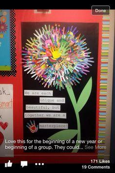 Lovely whole class idea