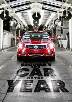 Meet the 2012 Esquire Car of the Year: 2013 Cadillac ATS