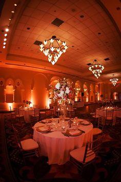 Stunning setup at this #amber #uplighting #wedding #reception! #diy #diywedding #weddingideas #weddinginspiration #ideas #inspiration #rentmywedding #celebration #weddingreception #party #weddingplanner #event #planning #dreamwedding by @myhotelwedding
