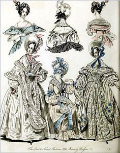 The World of Fashion and Continental Feuilletons 1836 Plate 38