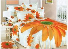 If you are flowers lover, you should see the gallery of 25 inspirational flower designed bedroom covers, which Top Dreamer has for you. Cheap Bedding Sets, Queen Bedding Sets, Queen Duvet, Sunflower Design, Quilt Cover Sets, Bed Spreads, Flower Designs, Bedroom Decor, Bedroom Ideas