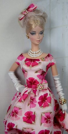 Bouffant for Silkstone Barbie and Victoire Roux by MatisseFashions, $135.00