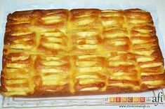 Bizcocho de manzana y crema pastelera Apple Recipes, Cake Recipes, Snack Recipes, Snacks, Sweet Pie, Sweet And Salty, Desert Recipes, Sin Gluten, Sweet Treats