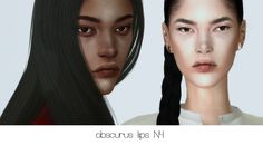 Obscurus Sims | Lips N4