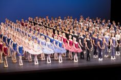 The students of the Royal Ballet School in the Grand Defile 2012 Photograph : Johan Persson