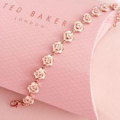 Dainty Jewelry, Cute Jewelry, Jewelry Accessories, Fashion Accessories, Fashion Jewelry, Jewelry Design, Ted Baker Accessories, Pink Jewelry, Jewelry Box
