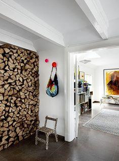 rangement du bois original