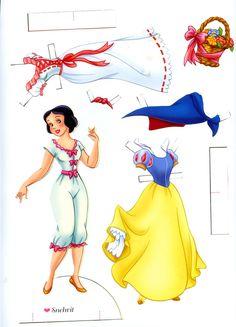 Disney Paper Doll                                                                                                                                                     More
