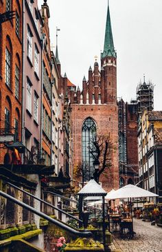 Discover what to do, where to stay, which bars to visit, plus tips for visiting Old Town Gdansk. Keep reading to discover Poland's Pearl of the North. Places Around The World, Oh The Places You'll Go, Places To Travel, Places To Visit, Around The Worlds, Old Town Gdansk, Gdansk Poland, Croatia Travel, Thailand Travel