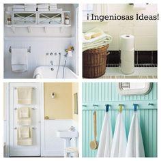 ¡Di adiós al desorden con estas ideas para tu baño!