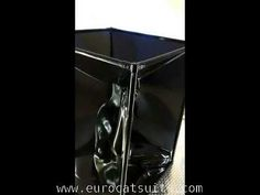 Latex vacuum cube - airtight , you can turn the vacuumcleaner off !