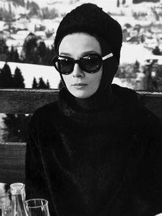 Audrey Hepburn, Charade 1961 by Daniel_isBORED, via Flickr