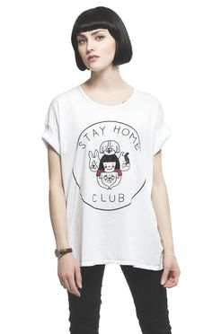 Stay Home Dogs loose tee – Stay Home Club