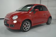 2012 Fiat 500, 23,425 miles, $13,394.