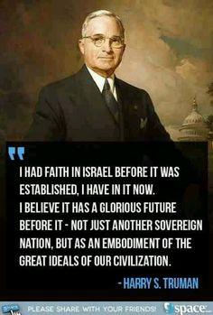 Faith in Israel - Truman