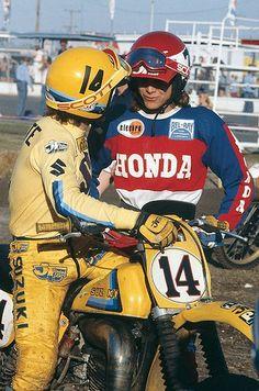 Danny Laporte and Marty Smith - Factory Suzuki & Honda Riders