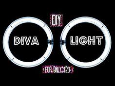 DIY Diva Ring Light | WINSLEY MELAN - YouTube