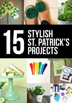 15 St. Patrick's Day Projects I'm Not Mad At by Persia Lou