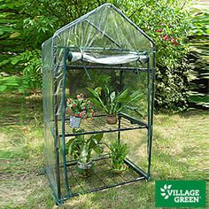 Ranging in price from $20 to $60, these portable garden greenhouses are at Big Lots.