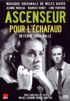 Ascenseur pour l'échafaud  (1958) -  Louis Malle  avec Jeanne Moreau.
