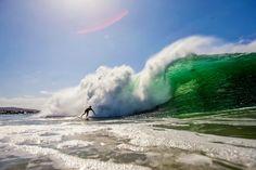 Photo of the Day: Bobby Okvist, The Wedge. Photo: Noyle #Surfer #SurferPhotos