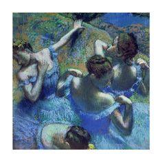 Edgar Degas' Blue Dancers, 1899
