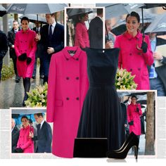 Kate Middleton by bklana on Polyvore featuring Monsoon, Mulberry, L.K.Bennett and Sergio Rossi