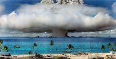 Esplosione nucleare sull'atollo di Bìkini - di balzax