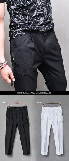 Mens Light weight Viscose Cargo Cropped Pants By Guylook.com