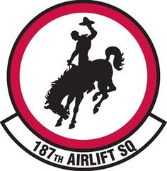 187th Airlift Squadron (187 AS) is a unit of the Wyoming Air National Guard 153d Airlift Wing. located at Cheyenne Air National Guard Base, Wyoming. The 187th is equipped with the C-130 Hercules.