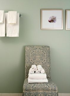 Green Wall Paint i'm calling my newest color obsession sage. it's a muted gray