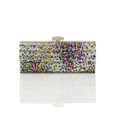 """De Couleurs crystal-love that this is sparkly!                                              var altImg = """"common/images/products/thumb/Flutedside.jpg""""  if(altImg == ''){  $("""".mz_thumbs"""").css(""""display"""",""""none"""");  }              De Couleurs Pattern Crystal Minaudiere"""