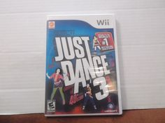 Just Dance 3 (Nintendo Wii, 2011)  Ubisoft E