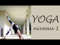 Cours de yoga débutants intermédiaire #tonique - YouTube