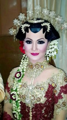 The Bride Make Up, Paes Solo, Javanese Wedding