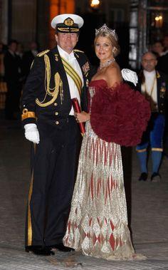 Willem Alexander, Prince of Orange and Princess Maxima.