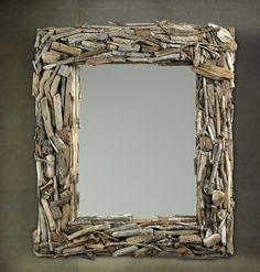 Large Driftwood Zuma Mirror